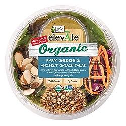 ElevAte Organic Baby Greens & Ancient Grain Salad 5oz