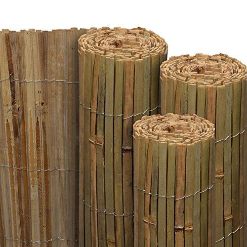 Sol Royal Sichtschutz Bambus SolVision B89 100x300 cm Sichtschutzmatte Natur als Wind- & Blickschutz für Garten & Balkon