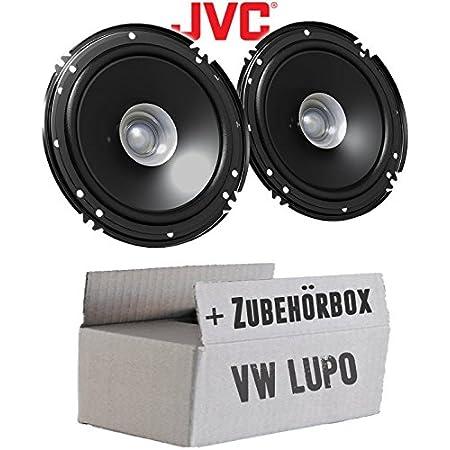 Lautsprecher Boxen Jvc Cs J610x 16cm Auto Einbauzubehör 300watt Koaxe Kfz Pkw Paar Einbauset Für Vw Lupo Front Just Sound Best Choice For Caraudio Navigation