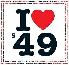 1949 BIRTHDAY or ANNIVERSARY GIFT - I Love 1949 Compilation Music Hits CD - 20 Original Songs - 1949 Year Greeting Card