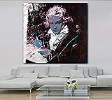 Beethoven Von Famous Painter Artwork Wohnkultur Bilder Für