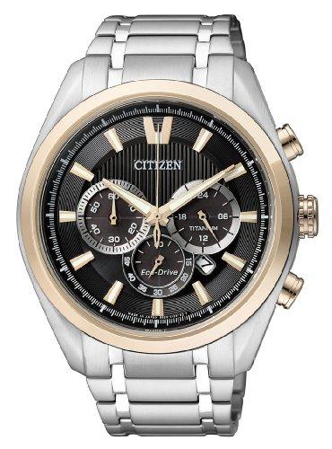 Citizen Super Titanium - Reloj de Cuarzo para Hombre, con Co