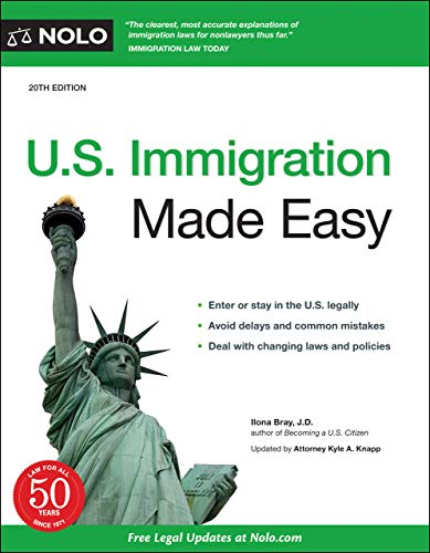 Compare Textbook Prices for U.S. Immigration Made Easy Twentieth Edition ISBN 9781413328349 by Bray J.D., Ilona