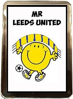 Leeds United F.C - Mr Football Fridge Magnet