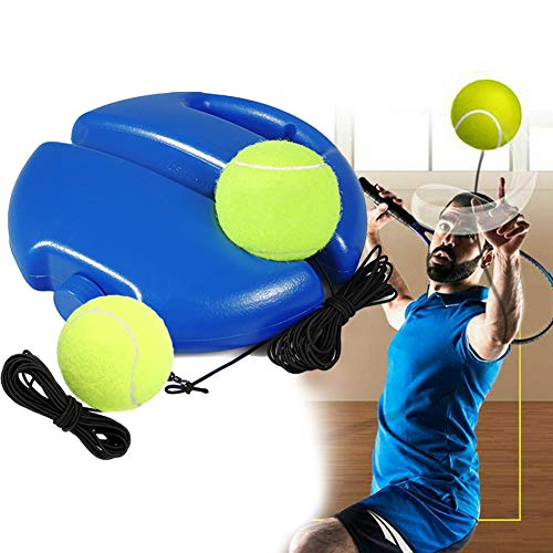 LEEWENYAN Entrenador de Tenis, Equipo de Entrenamiento Tennis Trainer Set Trainer Baseboard...