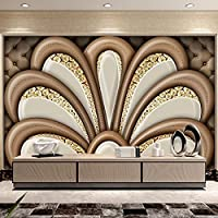 HGFHGD 粘着性の3D壁紙ダイヤモンドソフトバッグジュエリー壁画高級寝室リビングルームソファテレビ背景家の装飾ウォールステッカー