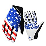 RIGWARL Bike MTB Gloves with for Off-Road Motorcycles - Mountain Climbing - Hiking and Other Outdoor Sports use, Male and Female Common. (L)
