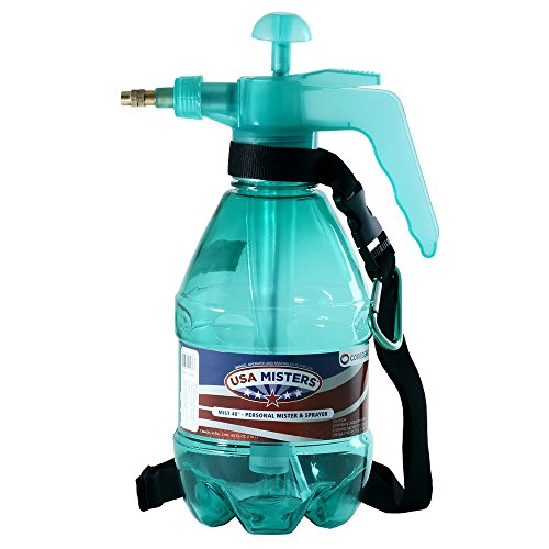 COREGEAR Classic USA Misters 1.5 Liter Personal Water Mister Pump Spray Bottle (Teal)