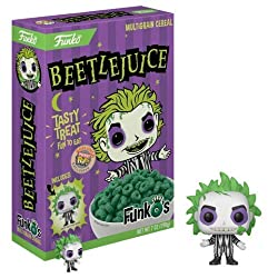 Funko FunkO's Cereal With Pocket Pop (Beetlejuice)