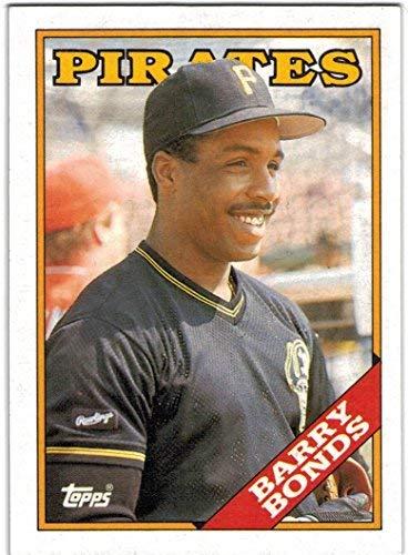 1988 Topps Pittsburgh Pirates Team Set with Barry Bonds & Bobby Bonilla - 28 MLB Cards