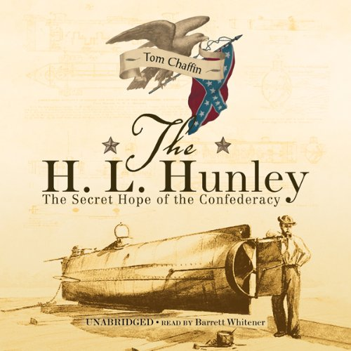 The H. L. Hunley audiobook cover art