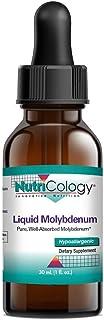 NutriCology Liquid Molybdenum 30 mL (1 fl oz)