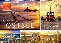 Romantische Ostsee - mein Urlaub (Wandkalender 2022 DIN A2 quer): Eine romantische Reise an die schoene Ostsee. (Monatskalender, 14 Seiten )