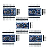 diymore 5pcs Redesign Pro Mini ATmega328P 3.3V 8M Module Board with Crystal Oscillator Pins Compatible with Nano Arduino Replace ATmega128