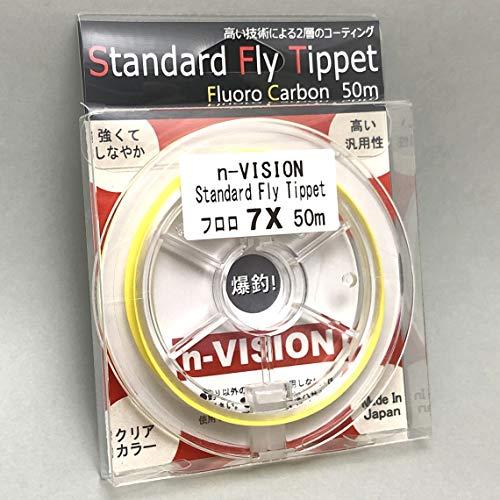 n-VISION スタンダードフライティペット フロロ 50m (8 X)