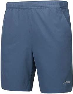 LI-NING Men's Breathable Badminton Shorts Soft Fitness Comfort Sports Shorts AAPP075 AAPN155 AAPP063 AAPN259