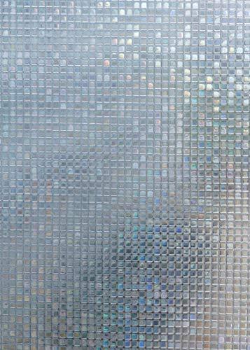 Arthome Película Privacidad Decorativa de Vidrio 90CM x 200CM,Efecto Arco Iris,Sin Pegamento Vinilo Pegatina de Ventana,Adherencia Electrostática,Anti UV,Para Hogar,Sala De Estar,Baño,Dormitorio,Cocina,Oficina