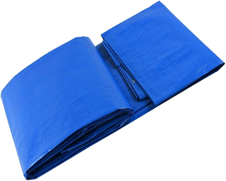 LJQ FSB ZXQZ Wasserdichte Plane Plane, Blauer und weier Poncho Kunststoff wasserdicht Plane LKW Plane Markise Tuch Visier Tuch