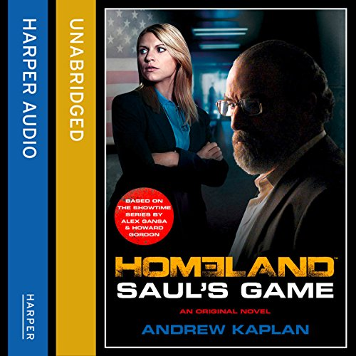Homeland: Saul's Game audiobook cover art