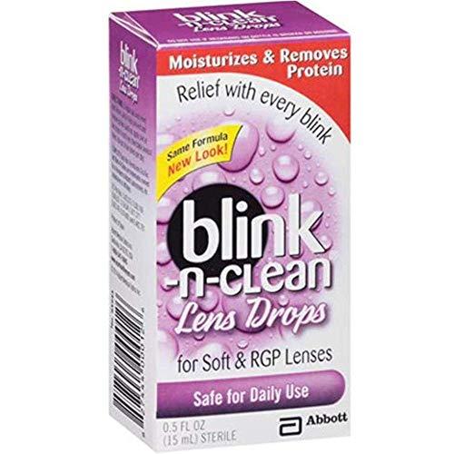 Amo Complete Blink-N-Clean Tropfen für jede weiche Kontaktlinse, 0,5 ml