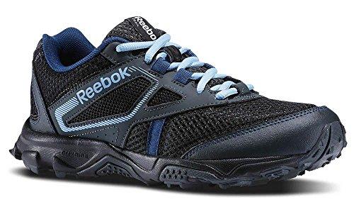 Reebok Trail Voyager RS Zapatillas de running para mujer, Verde (Timeless Teal/Grava/Tiza), 37 EU