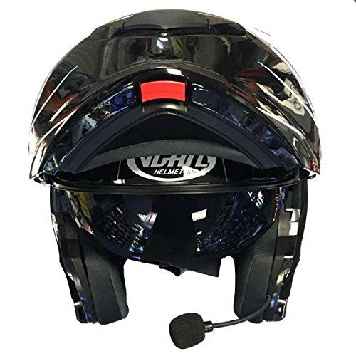 VCAN V271?Lightning Modular Motorrad Motorrad Bluetooth Flip Up Helm - XL