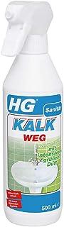 HG Kalkweg Schaumspray mit intensivem grünen Duft 1 x 500 ml – ein Anti Kalk Schaum zur Entfernung von hartnäckigen Kalkablagerungen, der einen strahlenden Glanz hinterlässt
