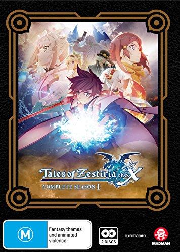 Tales of Zestiria the X Complete seasonⅠ (Import版) (2disc) - テイルズ オブ ゼスティリア ザ クロス シーズン1 コンプリート DVD-BOX アニメ TOZ [DVD] [Import] [PAL, 再生環境をご確認ください,パソコン又はリージョンフリーのプレイヤーで再生する必要があります]