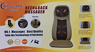 Bodycare Neck and Back Massager Chair Beige