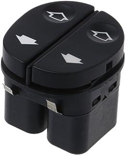 BIlinli Elektrischer Fensterheber Fahrerseitiger Wicklerschalter für Ford Fiesta Tourneo