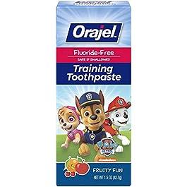 Orajel PAW Patrol Fluoride-Free Training Toothpaste, Fruity Fun, 1.5 oz.
