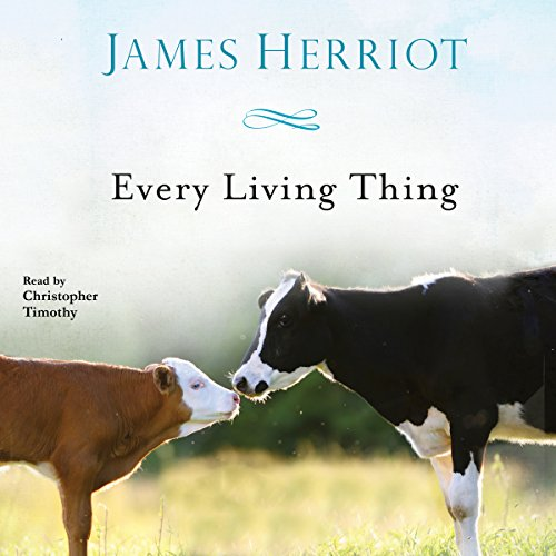 Every Living Thing audiobook cover art