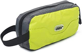 GOX Travel Toiletry Bag Ultra-Light Cosmetic Bag Large-Capacity Portable Makeup Pouch(Green)