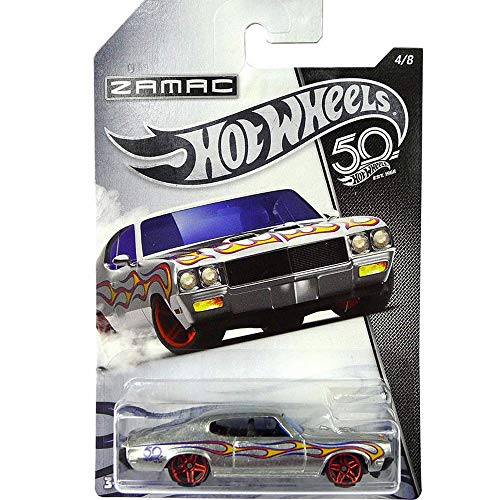 Hot-Wheels 70 B.U.I.C.K. gsx 50th Anniversary Zamac 4/8