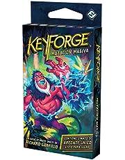Fantasy Flight Games Juego de Cartas - KeyForge Mutación Masiva Mazo Adéntrate en un Mundo en el Que Todo es Posible (KF09AES)