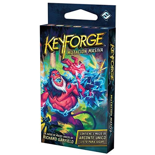 Juego de Cartas - KeyForge Mutación Masiva Mazo Adéntrate en un Mundo en el Que Todo es Posible