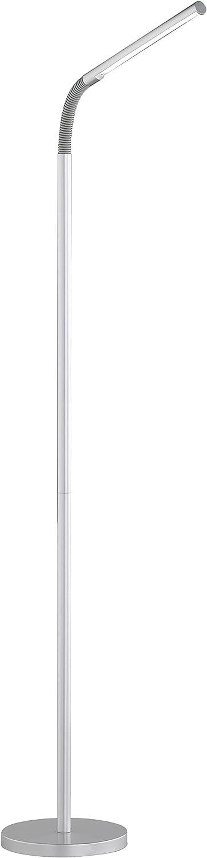 Trio Leuchten LED Stehleuchte Palo titanfarbig, Metall, 424510187 [Energieklasse [Energieklasse [Energieklasse A] B00BWSL5EO | Exzellente Verarbeitung  147369
