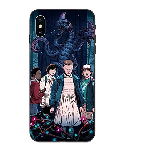 LNLYY Stranger Things Galaxy A5 2016 Funda Carcasa Case Cover Caricatura Stranger Things para Samsung Galaxy A5 2016