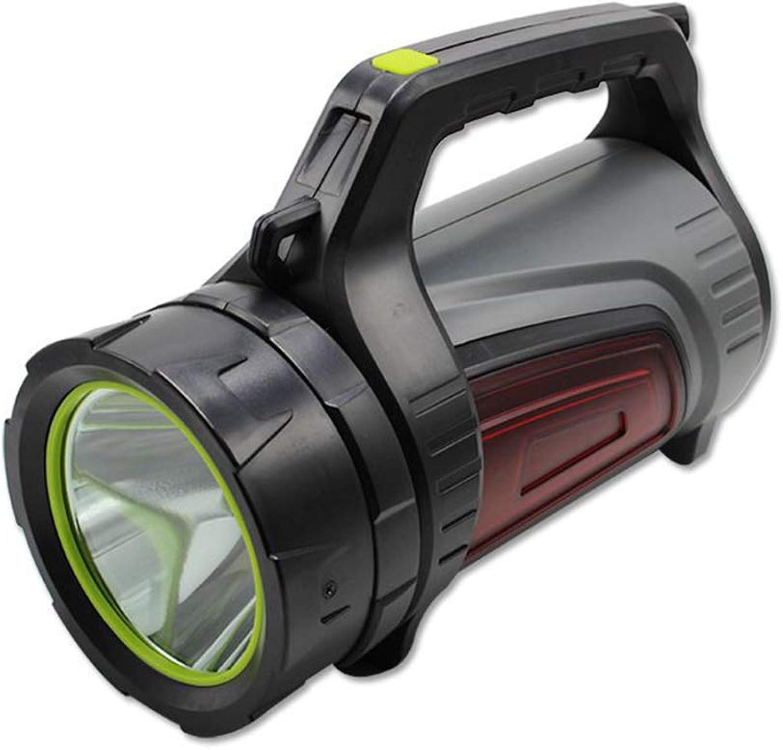 YYBT Super Bright Bright Bright LED Searchlight USB wiederaufladbare Outdoor-Spotlight Taschenlicht Taschenlicht Tragbare Hand-Funktion Camping Taschenlampe Lang-Range Lampe USB Mobile Power B07M6VL5DK | Berühmter Laden  236f2a