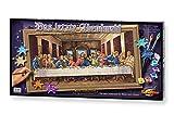 Schipper 609220441 - Malen nach Zahlen - Das letzte Abendmahl - Bilder malen für Erwachsene, inklusive Pinsel und Acrylfarben, 40 x 80 cm