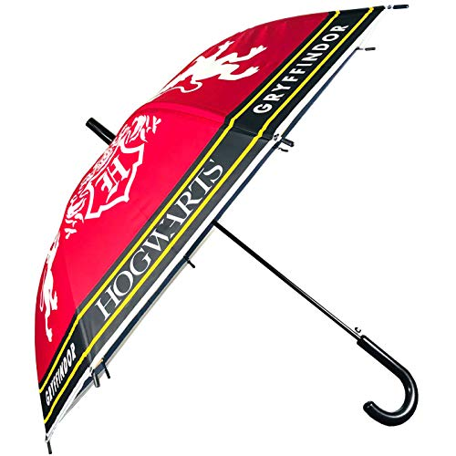 Paraguas Harry Potter Gryffindor Hogwarts Paraguas Infantil Niño Niña 68cm Paraguas Automático Harry Potter