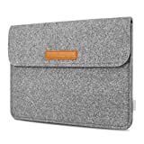 Inateck Tasche Schutzhülle Filz Hülle Kompatibel mit 11 Zoll iPad Pro 2018/10,5 Zoll New iPad Air 2019(iPad Air 3)/10,2 Zoll iPad 2019/9,7 Zoll iPad Pro/iPad Air/10.1Zoll Galaxy Tab/10 Zoll Surface Go