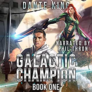 Galactic Champion: Book 1 audiobook cover art