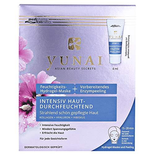 medipharma cosmetics YUNAI Feuchtigk.Maske 25g+vorber.Enzympeeling, 4 ml