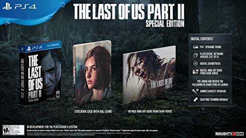 The Last of Us Part II Special Edition for PlayStation 4 [USA]