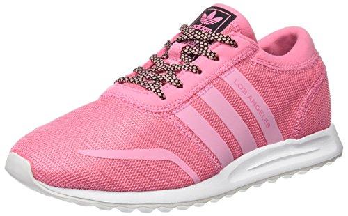 adidas Damen Los Angeles Sneaker Dekollete, Pink (Easy Pink S17/easy Pink S17/ftwr White), 38 EU