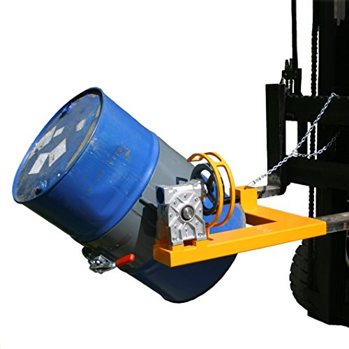 Ribaltafusti frontale manuale inforcabile a diametro fisso, per fusti standard petroliferi in metallo