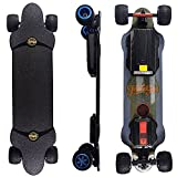 Teamgee H20T 39' Electric Skateboard with Remote, 9600 mAh Battery, 26PMH Top Speed, 4 Speed Adjustment, 1200W Dual Motor...