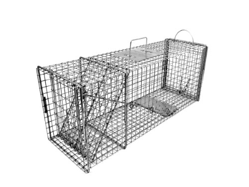 Tomahawk Model 608.1 - Original Series Rigid Live Trap with one Trap Door and Easy Release Door -...