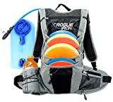 Rogue Iron Sports Disc Golf Bag Disc Golf Backpack Frisbee Golf Bag w/Water Bladder